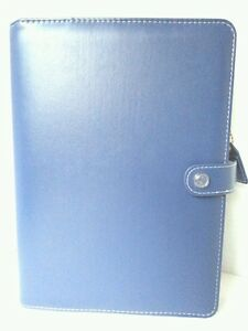 Websters Pages Color Crush Navy Blue Planner Kit New A5 Organizer 6 Ring Binder