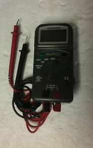 Blue Point Manufactured For Snap On Multi Meter Eedm501b
