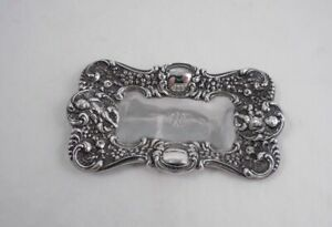 Unger Bros Sterling Silver Figural Cherubs Pin Tray Art Nouveau