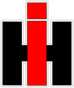 Case Ih Tractor International Harvester Logo Vinyl Sticker Decal Bumper Window