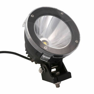 4 25w 6500k Round Led Work Light Cannon Suv Spot Driving Fog Offroad Cover