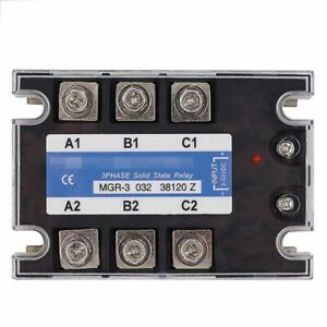 Three phase Solid State Relay For Mager Mgr 3 032 38120 Z 120a Dc ac Ssr 380vac