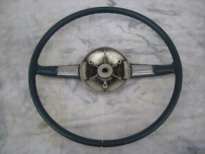 1946 Or 1947 Hudson Steering Wheel In Good Condition