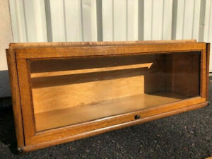 Antique Barrister Bookcase Section Sized D 12 1 4 For Large Books