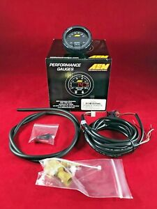 Aem X Series Boost Pressure Gauge 30 35 Psi Bar 1 2 5 03 0306