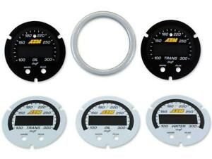 Aem X Series Water Oil Trans Temperature Gauge Faceplate Only 300f 150c 30 0302