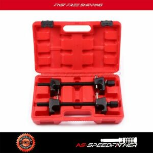 Coil Spring Compressor Garage Tool For Macpherson Struts Shock Absorber Car