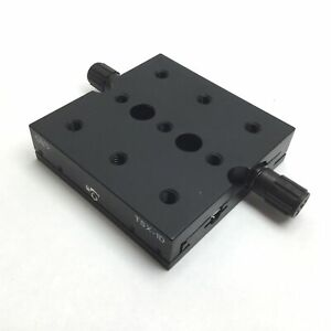 Newport Tsx 1d Dovetail Linear Stage Travel 1 Stage 3 X 3 X 0 75