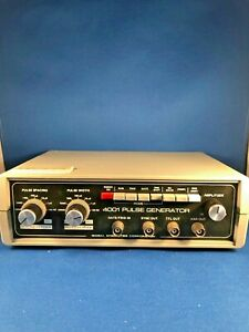 Global Specialties Corp 4001 Ultravariable Pulse Generator Working 30 day Refund
