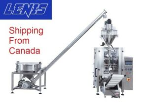Pillow Bagging Machine Vertical Form Fill Seal vffs For Powder with Video
