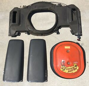 Mopar 1969 Dodge Ramcharger Hood Fresh Air Grabber Box Coronet Rt Super Bee 383