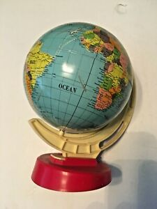 Vintage Earth Globe Ms Toy Made In Germany