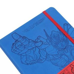Transformers Theme A5 Notebook Planner optimus Prime bumblebee