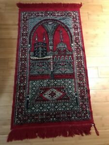 Gorgeous Hand Knotted Prayer Rug