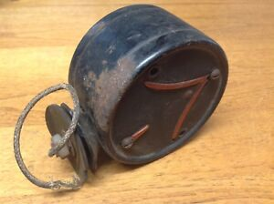 Early Double Arrow Turn Light Vintage Yankee Signal Lamp Truck Bus