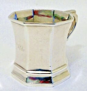 A Coin Silver Child S Mug Gregg Hayden Co Charleston Sc C 1846 52