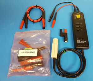 Tektronix P5210a 50 Mhz High voltage Differential Probe W Accessories