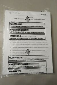 Bosch Addendum Dvr 670 Installation And Operation Manual Am18 q0617