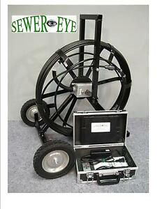 Battery ac Powered Sewereye Sewer Camera Pipe Video Inspection Camera