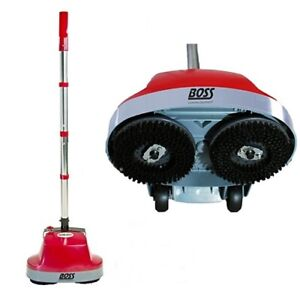 Floor Scrubber Buffer Polisher Machine Tile Hardwood Cement Floors Cleaner New