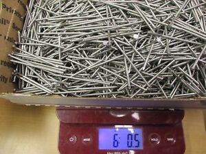 6 Full Pounds 2 1 2 316 Stainless Steel Siding Nails Split proof 8d 1200