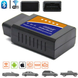 Wifi Obd2 Elm327 Bluetooth Car Diagnostic Scanner For Android Ios Auto Scan Tool