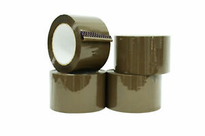 Industrial Shipping Box Packaging Tape Tan 3 In X 110 Yds