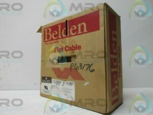 Belden 9l28064 Gray Flat Ribbon Cable 100ft New In Box