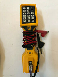 Fluke Networks Ts22a Linesman Butt test Set With Clips