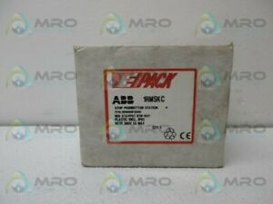 Abb 1rmskc 1tvl101000p3206 Emergency Stop Pushbutton Station new In Box
