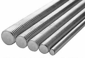 5 8 11x3 Astm F593 All Thread Rod Stainless Steel 304 8 Sticks
