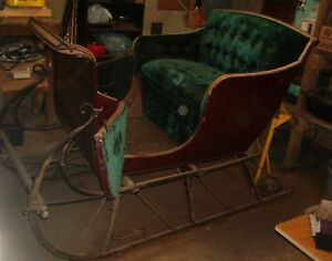 Antique Horse Drawn Sleigh Probably From The Late 1800 S Local Pickup Only