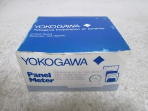 Yokogawa 250 400 faxs Panel Meter 0 2500 Dc Amperes New In Box