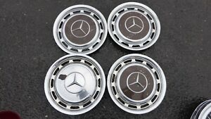 Vintage 1970 70 Mercedes Benz Wheel Covers Hub Cap Set 240 300 Hub Caps 14