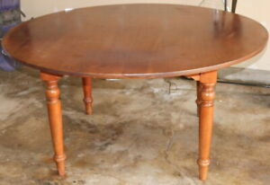 Used Stickley 60 Cherry Dining Table Model 255