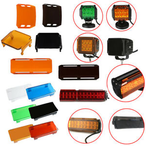 3 4 7 9 12 14 20 22 32 38 42 50 52 54 Inch Led Work Light Bar Protector Covers