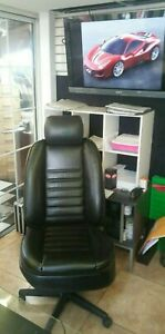 Original Bentley Seat Office Chair Furniture Leather With Casters Black