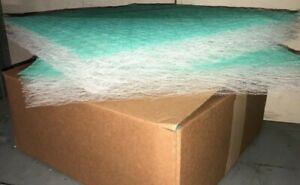 Exhaust Spray Booth Filters Fiberglass 20x20x2 50 Per Box Spray Booth Auto Paint