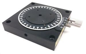 Parker 10000 Rotary Positioner Stage Table Diameter 2 75 Range 360