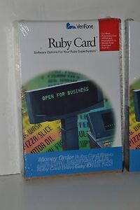 New Verifone Ruby P040 07 508 Hpv 20 Workstation Card Sapphire