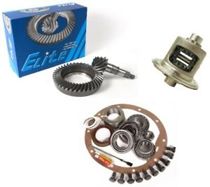 Jeep Wrangler Yj Tj Xj Dana 35 4 11 Ring And Pinion Traclok Posi Elite Gear Pkg