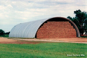 Steel Factory 50x50x19 Metal Arch Quonset Building Farm Use Livestock Shelter