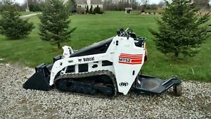 Bobcat Mt52 Mt 52 Mini Track Loader Skid Steer