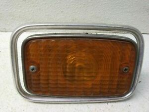 Drivers Left Grill Mounted Park Lamp Turn Signal For 77 78 Amc Gremlin Gt