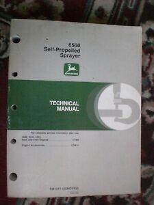 John Deere 6500 Self Propelled Sprayer Technical Manual box 686