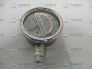 Industrial Mro 9796180 Pressure Gauge 100psi 232 53 2 5 used