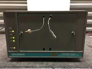 Beckman System Gold Diode Array Detector Module 168 Retired In Working Condition
