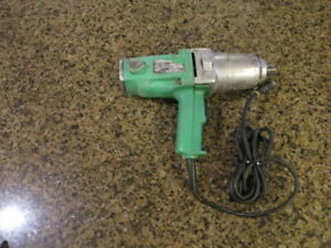 Hitachi 7 8 Reversible Electric Corded Impact Wrench 3 4 Square Drive Wh22