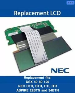 Replacement Fits Nec Dsx 40 80 120 Nec Dth dtr ith itr aspire 22 Aspire 34btn