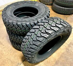 4 New Accelera M T 01 Lt 235 75r15 Load C 6 Ply Mt Mud Terrain Tires